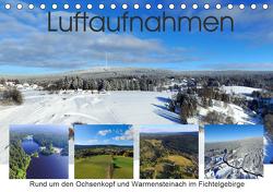Luftaufnahmen rund um den Ochsenkopf (Tischkalender 2021 DIN A5 quer) von Werner-Ney,  S.