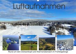 Luftaufnahmen rund um den Ochsenkopf (Wandkalender 2021 DIN A2 quer) von Werner-Ney,  S.