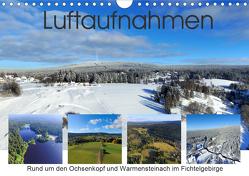 Luftaufnahmen rund um den Ochsenkopf (Wandkalender 2021 DIN A4 quer) von Werner-Ney,  S.
