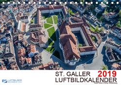 Luftbildkalender St. Gallen 2019CH-Version (Tischkalender 2019 DIN A5 quer) von N.,  N.