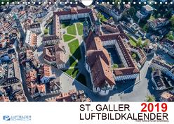 Luftbildkalender St. Gallen 2019CH-Version (Wandkalender 2019 DIN A4 quer) von N.,  N.