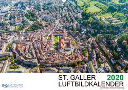 Luftbildkalender St. Gallen 2020CH-Version (Wandkalender 2020 DIN A2 quer) von N.,  N.