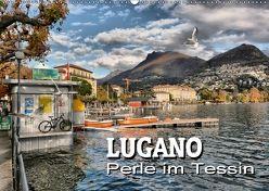 Lugano – Perle im Tessin (Wandkalender 2018 DIN A2 quer) von Bartruff,  Thomas