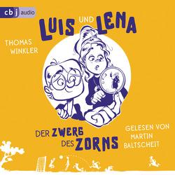 Luis und Lena – Der Zwerg des Zorns von Baltscheit,  Martin, Winkler,  Thomas