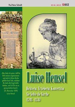 Luise Hensel von Schmidt,  Paul