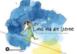 Luna und die Sterne von Gral,  August, Messing,  Stefanie