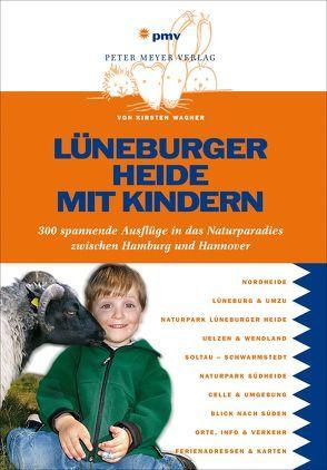 Lüneburger Heide mit Kindern von Wagner,  Kirsten