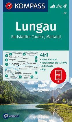 Lungau, Radstädter Tauern, Maltatal von KOMPASS-Karten GmbH