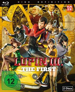 Lupin III.: The First (Movie) – Blu-ray [Limited Edition] von Yamazaki,  Takashi
