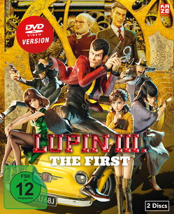 Lupin III.: The First (Movie) – DVD [Limited Edition] von Yamazaki,  Takashi
