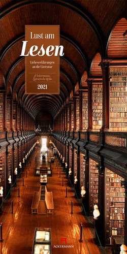 Lust am Lesen – Literatur-Kalender 2021