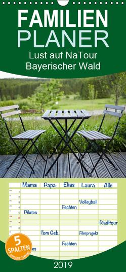 Lust auf NaTour – Bayerischer Wald – Familienplaner hoch (Wandkalender 2019 , 21 cm x 45 cm, hoch) von Riedmiller,  Andreas