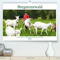 Lust auf NaTour – Bregenzerwald (Premium, hochwertiger DIN A2 Wandkalender 2021, Kunstdruck in Hochglanz) von Riedmiller,  Andreas