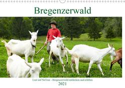 Lust auf NaTour – Bregenzerwald (Wandkalender 2021 DIN A3 quer) von Riedmiller,  Andreas
