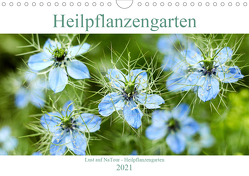 Lust auf NaTour – Heilpflanzengarten (Wandkalender 2021 DIN A4 quer) von Riedmiller,  Andreas