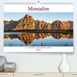 Lust auf NaTour – Montafon (Premium, hochwertiger DIN A2 Wandkalender 2021, Kunstdruck in Hochglanz) von Riedmiller,  Andreas