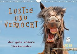 Lustig und verrückt – der ganz andere Tierkalender (Wandkalender 2019 DIN A4 quer)
