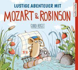 Lustige Abenteuer mit Mozart & Robinson von Bendel,  Jochen, Herget,  Gundi
