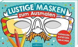 Lustige Masken von Glatzel-Poch,  Helge