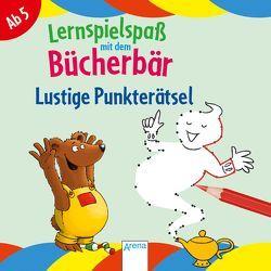Lustige Punkterätsel. Lernspielspaß mit dem Bücherbär von Bertrand,  Fréderic, Reimers,  Silke