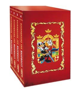 Lustiges Taschenbuch Literatur Bestseller (4 Bände im Schuber) von Disney