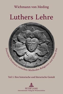 Luthers Lehre von von Meding,  Wichmann
