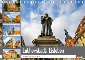 Lutherstadt Eisleben Impressionen (Tischkalender 2020 DIN A5 quer) von Meutzner,  Dirk