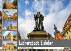 Lutherstadt Eisleben Impressionen (Wandkalender 2019 DIN A2 quer) von Meutzner,  Dirk