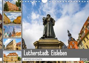 Lutherstadt Eisleben Impressionen (Wandkalender 2020 DIN A4 quer) von Meutzner,  Dirk
