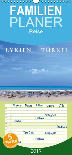 Lykien – Türkei – Familienplaner hoch (Wandkalender 2019 , 21 cm x 45 cm, hoch) von Kruse,  Joana