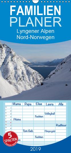 Lyngener Alpen Nord-Norwegen – Familienplaner hoch (Wandkalender 2019 , 21 cm x 45 cm, hoch) von Esser,  Barbara