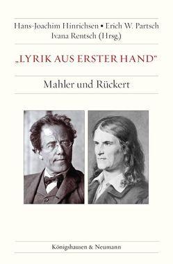 """""""Lyrik aus erster Hand"""" von Hinrichsen,  Hans-Joachim, Partsch,  Erich W, Rentsch,  Ivana"""