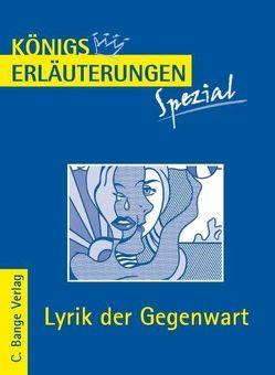 Lyrik der Gegenwart. von Blecken,  Gudrun