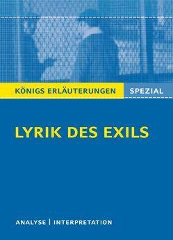 Lyrik des Exils. von Blecken,  Gudrun
