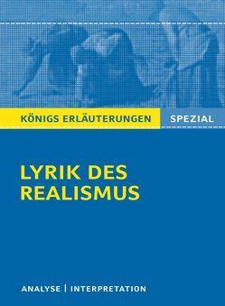 Lyrik des Realismus. von Blecken,  Gudrun
