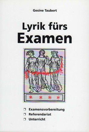 Lyrik fürs Examen von Taubert,  Gesine