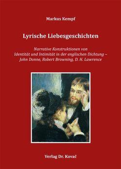 Lyrische Liebesgeschichten von Kempf,  Markus