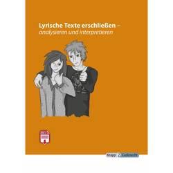 Lyrische Texte erschließen, analysieren und interpretieren von Krapp und Gutknecht,  Verlag