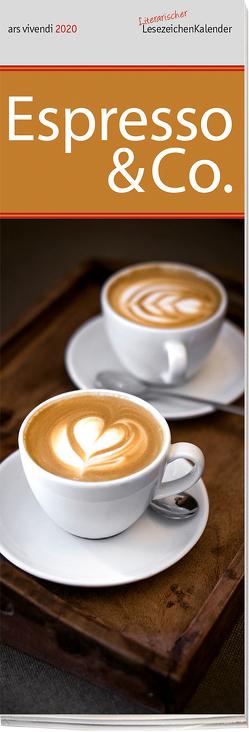 Leszeichenkalender Espresso & Co. 2020 von -