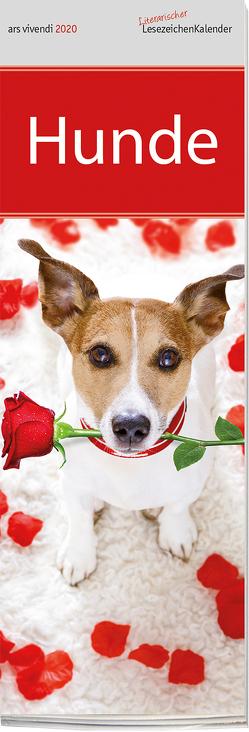 Lesezeichenkalender Hunde 2020 von -