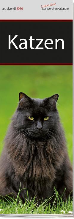 Lesezeichenkalender Katzen 2020 von -