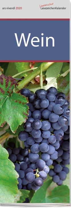 Lesezeichenkalender Wein 2020 von -