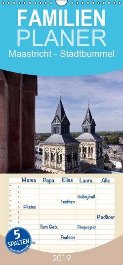 Maastricht – Stadtbummel – Familienplaner hoch (Wandkalender 2019 , 21 cm x 45 cm, hoch) von boeTtchEr,  U