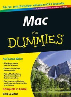 Mac für Dummies von Kommer,  Isolde, LeVitus,  Bob