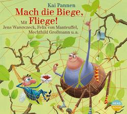 Mach die Biege, Fliege! von Großmann,  Mechthild, Pannen,  Kai, Singer,  Theresia, von Manteuffel,  Felix, Wawrczeck,  Jens