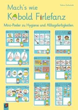 Mach's wie Kobold Firlefanz – Mini-Poster zu Hygiene und Alltagsfertigkeiten von Gottschalk,  Sabine