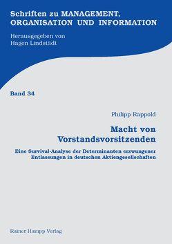 Macht von Vorstandsvorsitzenden von Rappold,  Philipp