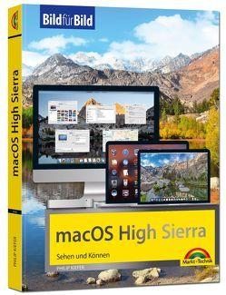 macOS High Sierra Bild für Bild – die Anleitung in Bilder – ideal für Einsteiger und Umsteiger von Kiefer,  Philip