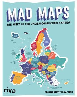 Mad Maps von Küstenmacher,  Simon