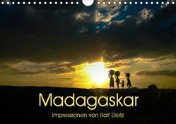 Madagaskar – Impressionen von Rolf Dietz (Wandkalender 2020 DIN A4 quer) von Dietz,  Rolf